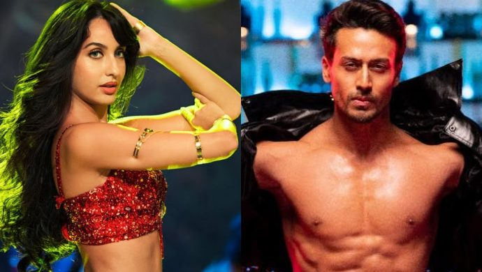 Nora Fatehi and Tiger Shroff