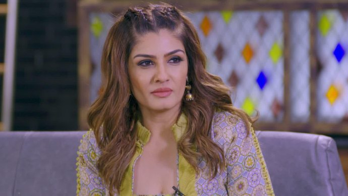 Raveena Tandon on Not Just Supper Stars