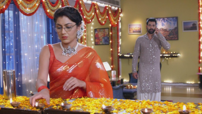 Still from Kumkum Bhagya with Abhi