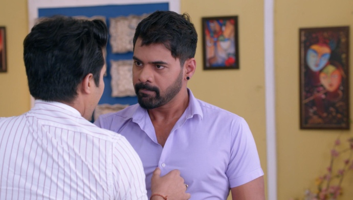 Still from Kumkum Bhagya with Abhi and Rishi