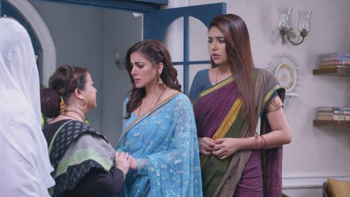 Still from Kundali Bhagya with Preeta and Sarla