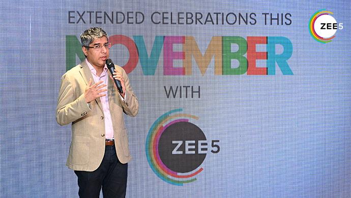 Tarun Katial Opens the ZEE5 Celebrations
