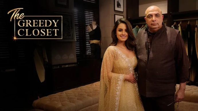 Anita Hassanandani, Tarun Tahiliani on The Greedy Closet