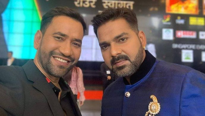 Nirahua and Pawan Singh