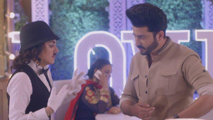 Preeta at Karan and Mahira's engagement