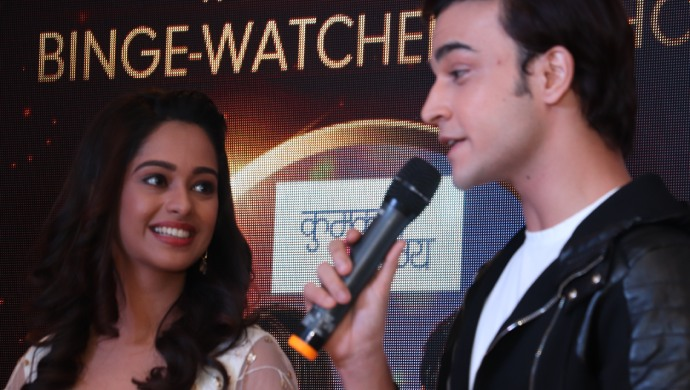 Ranbir and Prachi At the High Five on ZEE5 Awards