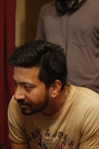 Rangbaaz Phirse director Sachin Pathak with writer Siddharth Mishra