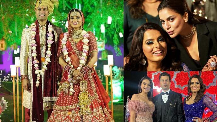 Ruhi Chaturvedi wedding pics