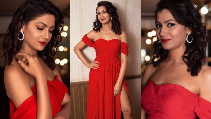 Sriti Jha at Zee Rishtey Awards 2019
