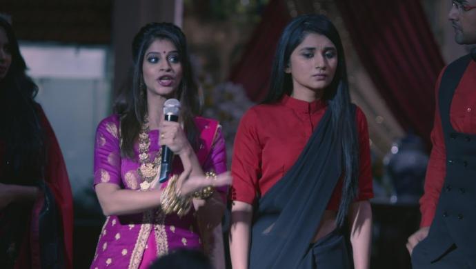 Still from Guddan Tumse Na Ho Payega with Guddan and Durga
