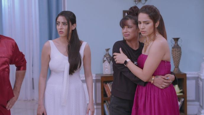 Still from Kumkum Bhagya with Aliya and Rhea
