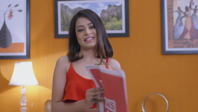 Still from Kumkum Bhagya with Priyanka