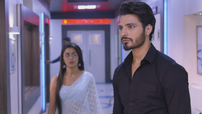 Still from Kumkum Bhagya with Purab and Pragya