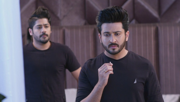 Still from Kundali Bhagya with Karan and Sammy