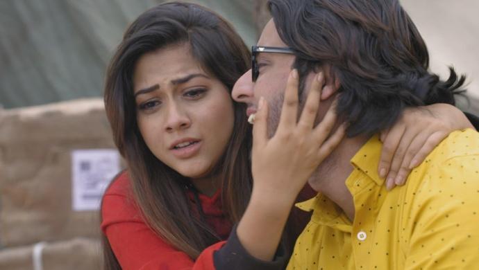 Still from Tujhse Hai Raabta with Kalyani and Atharv