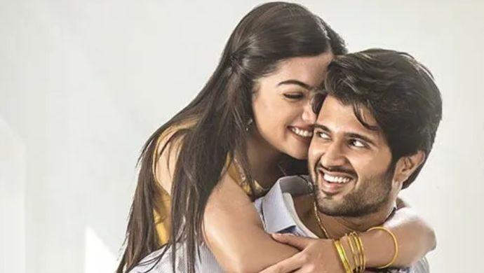 Vijay Deverakonda and Rashmika Mandanna in Geetha Govindam
