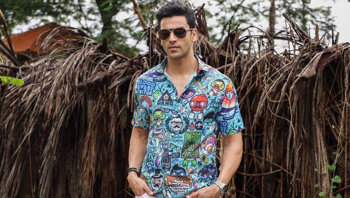 Vivek Dahiya in a funky shirt