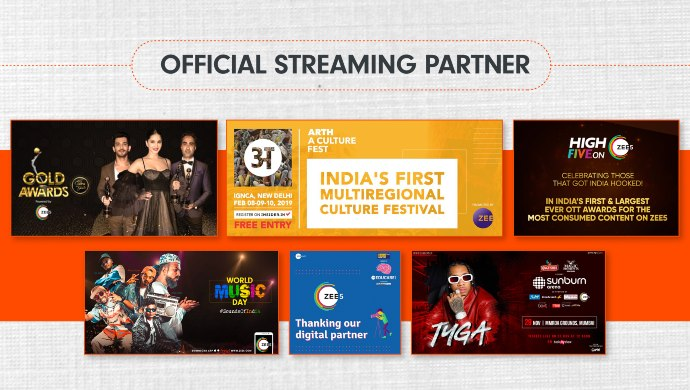ZEE5 streaming partner