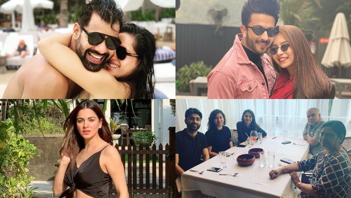 Zee TV stars new year vacation mode
