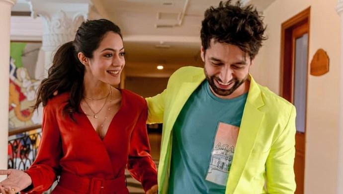 Anya Singh and Nakuul Mehta at NKYBF promotions