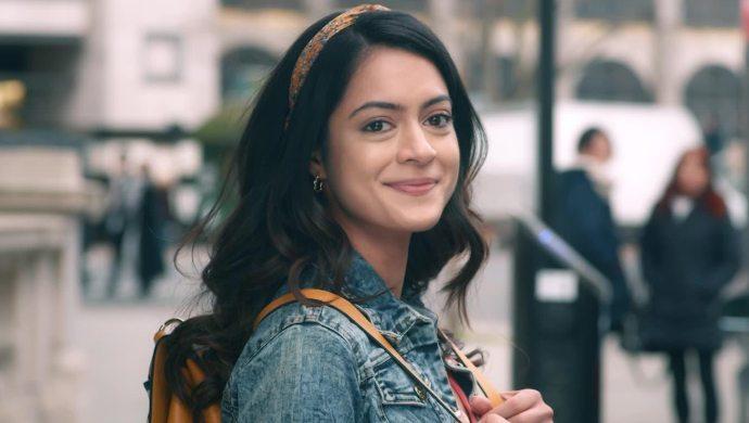 Anya Singh as Tanie Brar from NKYBF