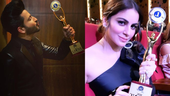 Dheeraj Dhoopar, Shraddha Arya win at Lions Gold Awards