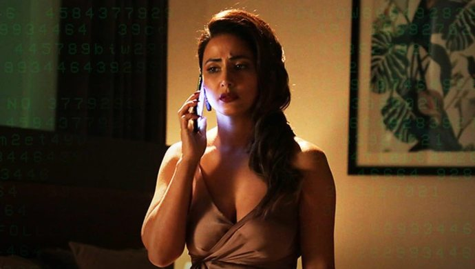 Hina Khan in Hacked
