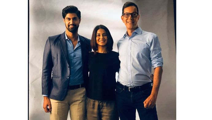 Jennifer Winget, Tanuj Virwani and Rajat Kapoor