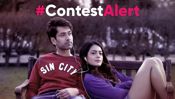 Nakuul Mehta and Anya Singh in Never Kiss Your Best Friend contest
