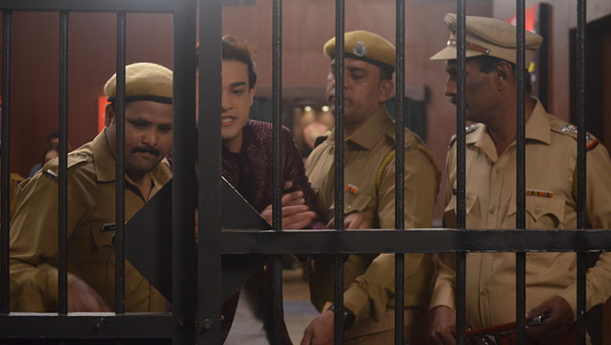 Ranbir is taken to Jail in Kumkum Bhagya