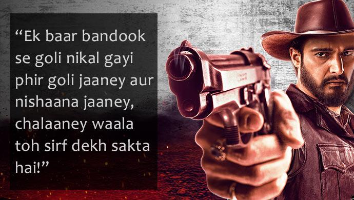 Rangbaaz poster with Jimmy Sheirgill