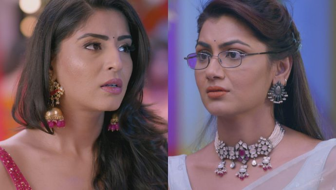 Sriti Jha and Ashlesha Savant in Kumkum Bhagya still