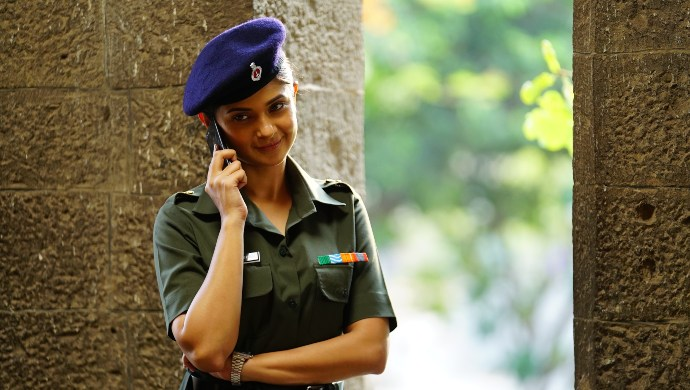 Still from Code M featuring Jennifer Winget