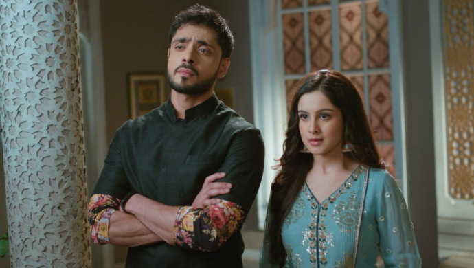 Still from Ishq Subhan Allah With Kabeer Ahmed and Zara