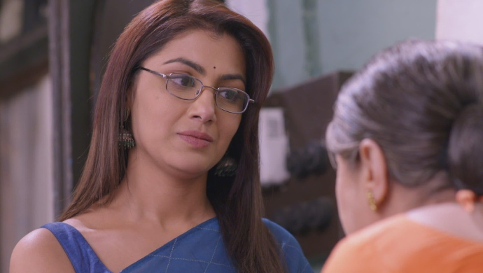 Still from Kumkum Bhagya with Pragya and Sarita