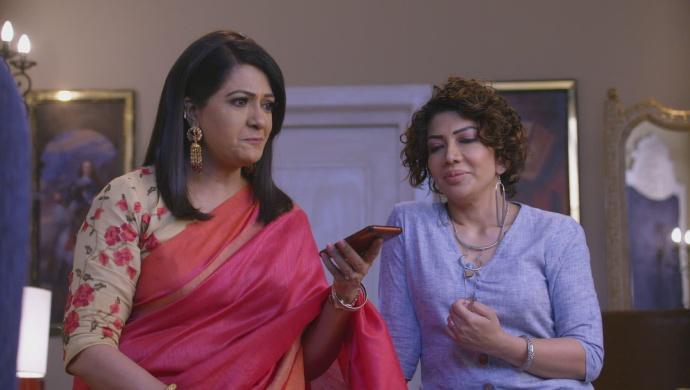 Still from Kundali Bhagya with Kareena and Ramona