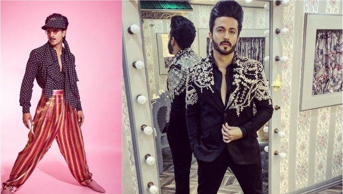 Dheeraj Dhoopar and Ranveer Singh Fashion Choices