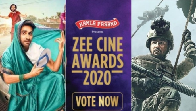 Dream Girl and Uri Nominated For Zee Cine Awards