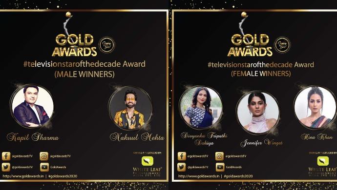 Gold Awards 2020 Winners