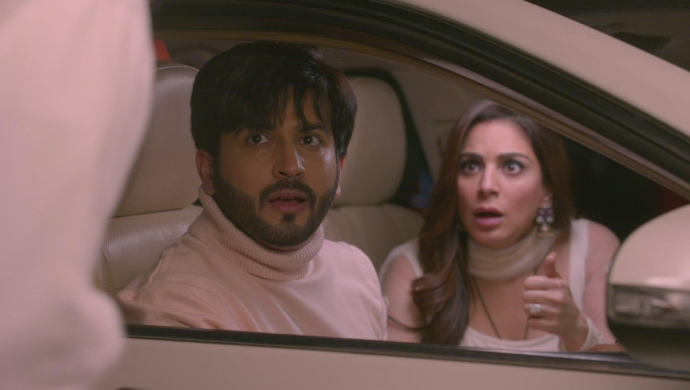Still from Kundali Bhagya with Preeta and Karan