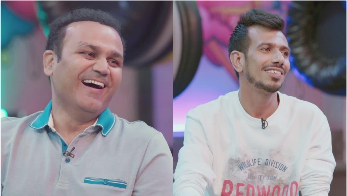 Yuzvendra Chahal and Virender Sehwag on Game On