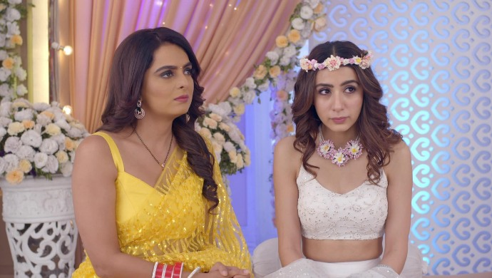 Still from Kundali Bhagya with Mahira and Sherlyn