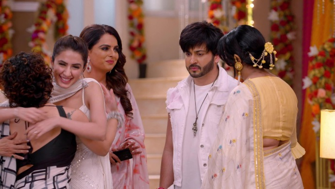 Still from Kundali Bhagya with the Luthra family