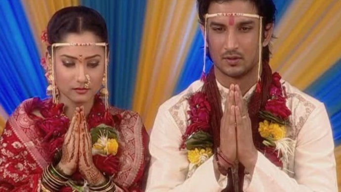 Archana and Manav from Pavitra Rishta