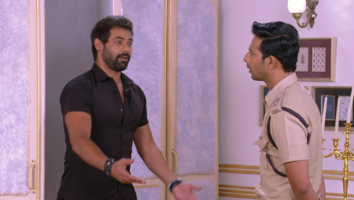 Abhi and Malhar in Kumkum Bhagya on ZEE5