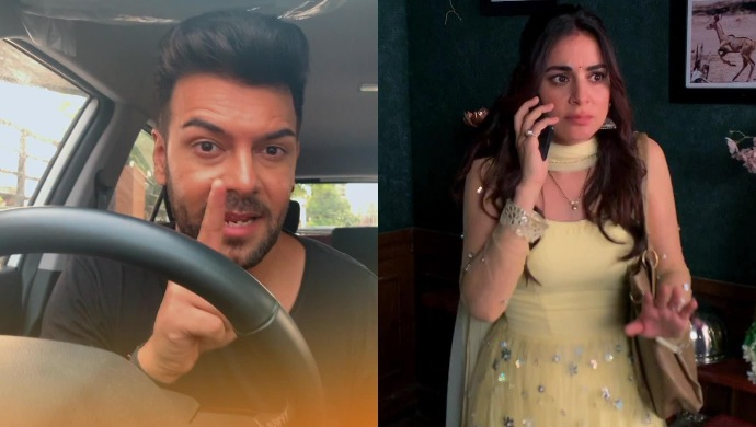 Still from Kundali Bhagya with Preeta and Prithvi