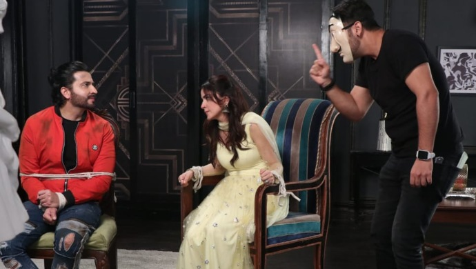 Still of Karan, Preeta and Prithvi from Kundali Bhagya Mahaepisode