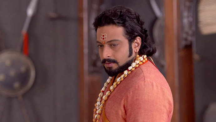 Amol Kolhe as Sambhaji in Swarajyarakshak Sambhaji on Zee5.