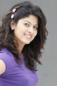 Abhindya Bhave from Tula Pahate poses for a photoshoot.