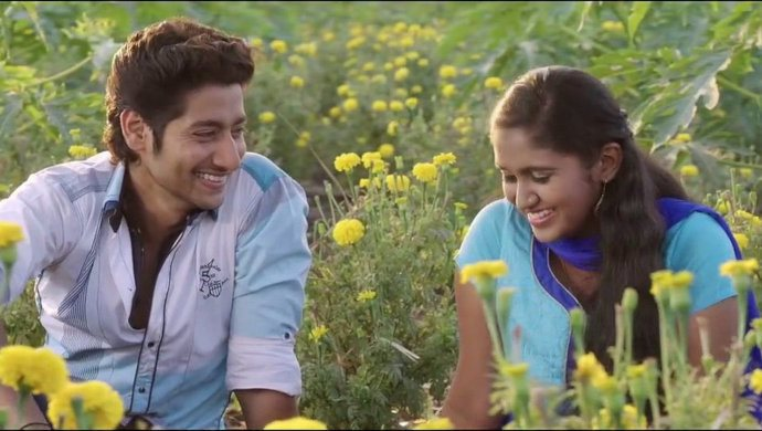 Rinku Rajguru and Akash Thosar In Sairat